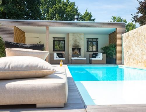 Maastricht | Luxe tuin met zwembad en poolhouse